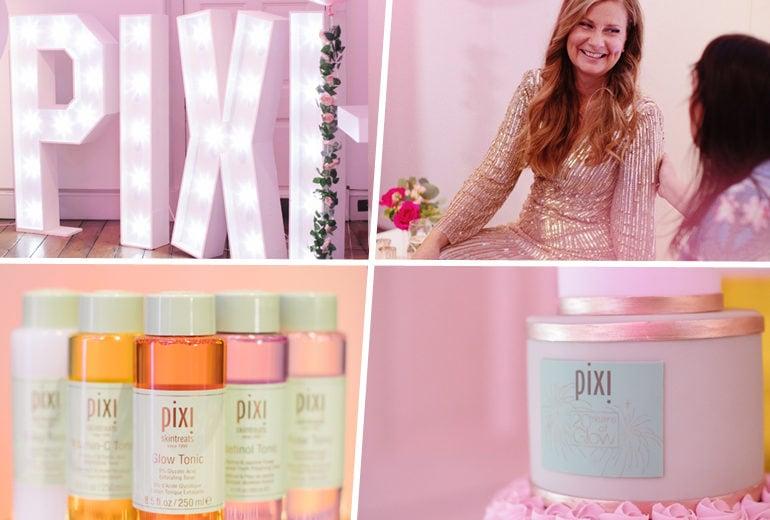 PIXI Beauty: 20 anni di glowing festeggiati a Londra con un team speciale capitanato da Petra Strand
