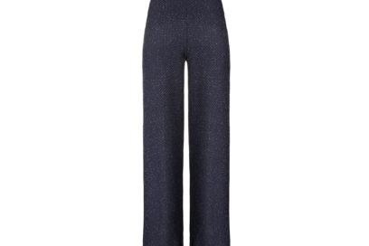 Pantalone-in-microfibra-goffrata-e-ricamo-filo-lurex-FISICO