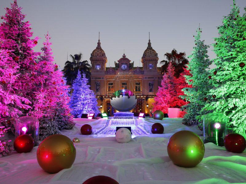 Principato Monaco Mercatini di Natale Casinò