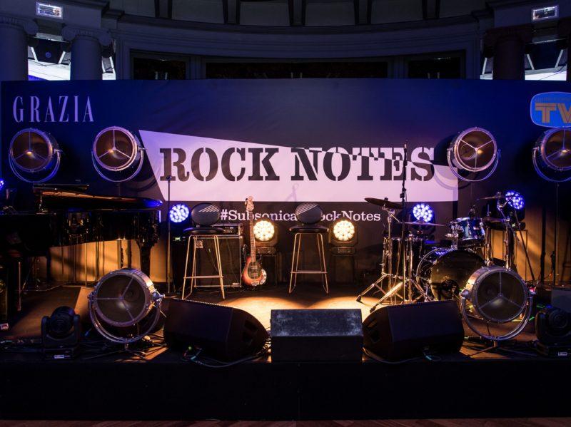 Rock Notes Subsonica evento Grazia e Tv Sorrisi e Canzoni 11