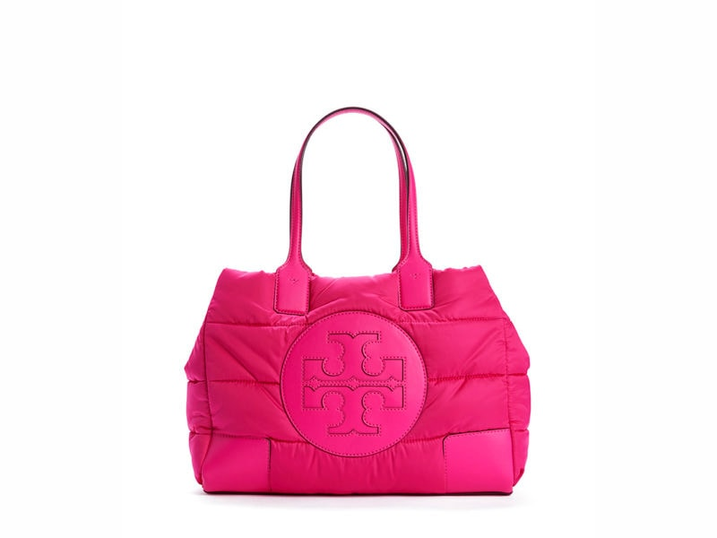 TB Ella Puffy Quilted Tote 60983 in Bright Pink