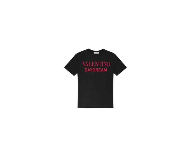 VALENTINO-DAYDREAM—Valentino-Women's-black-tshirt