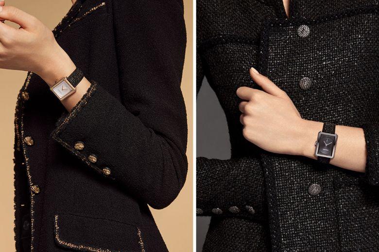 Boy·Friend, l'orologio CHANEL che unisce tocco manlike e il fascino del tweed