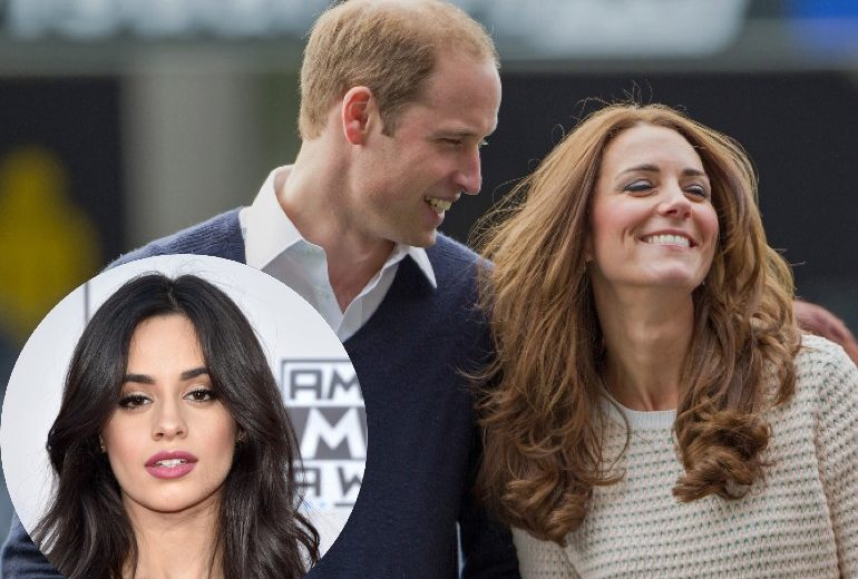 Camila Cabello ruba una matita da Kensignton Palace: la risposta di William e Kate