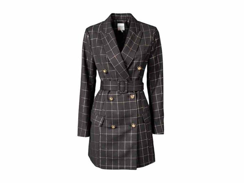 silvian-heach-giacca-cintura-quadri