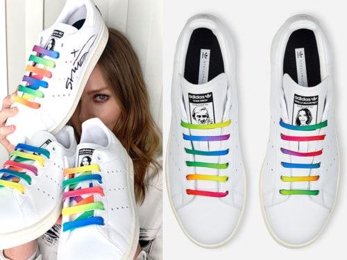 adidas donna stan smith arcobaleno