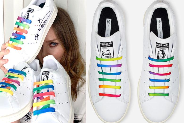 Le Stella #Stansmith per la Primavera 2020 sono il tocco rainbow che vorremmo indossare ora!