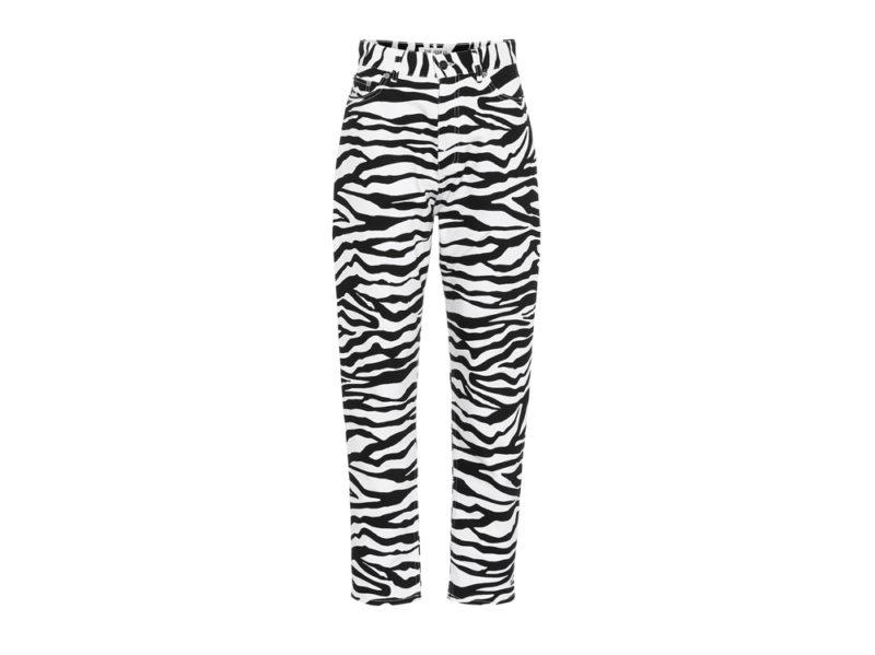 the-attico-su-mytheresa-jeans-con-stampa-zebra