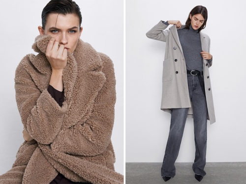 cappotti lana donna zara inverno