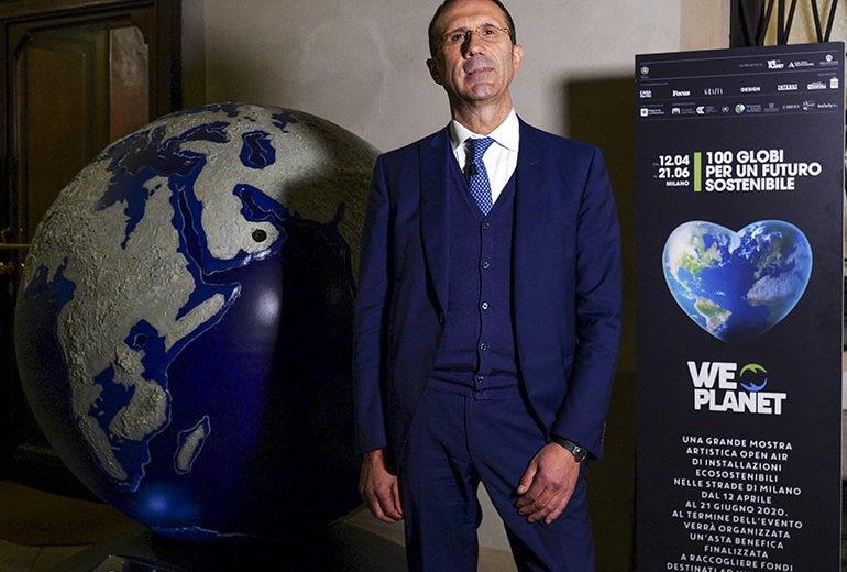 """WePlanet: il Globo per un futuro sostenibile """"ospite d'onore"""" della Banca Galileo"""