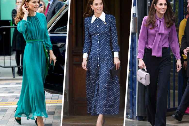 Kate Middleton: 12 look per 12 mesi