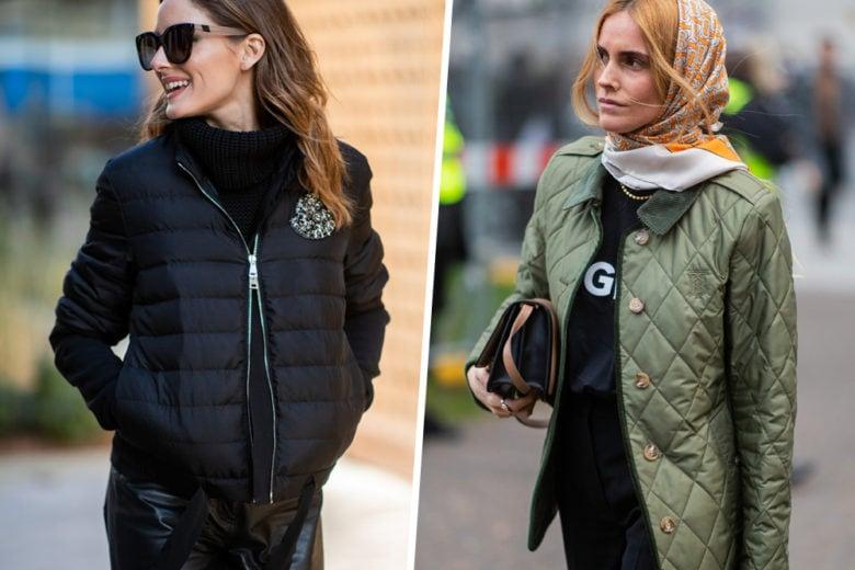 Pesi Piuma: i piumini 100 gr. caldi e furbi che potete indossare anche sotto il cappotto