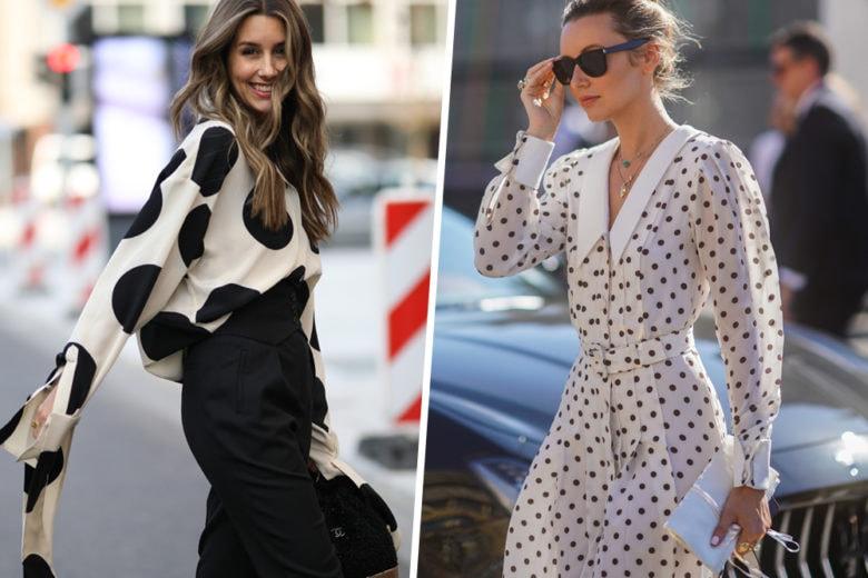 Un inverno vintage style? Basta un vestito a pois!