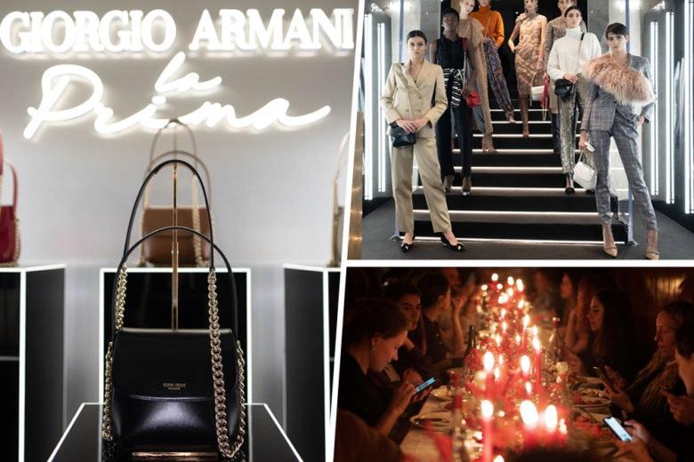 Armani: una serata speciale per celebrare l'arrivo de La Prima da Sugar