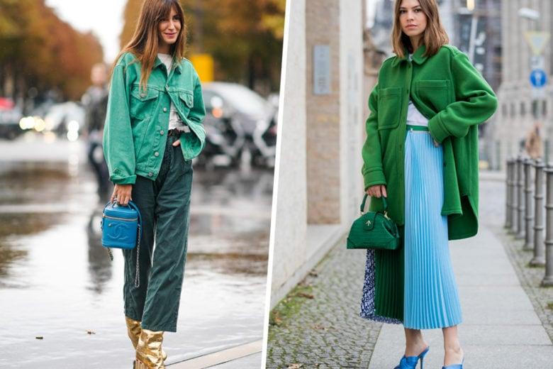 5 sfumature di verde (tutte da indossare)