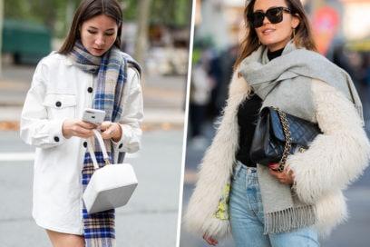 Passione sciarpe: ecco i modelli must dell'inverno