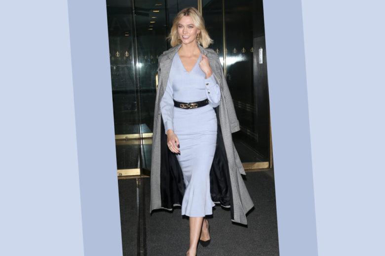 Il look di Karlie Kloss è quello giusto per cominciare con stile il 2020