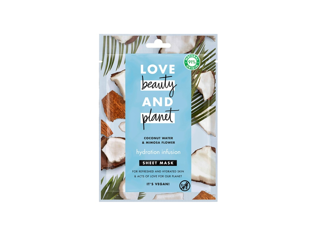 LOVE-BEAUTY-AND-PLANET_COCONUT-WATER-SHEET-MASK