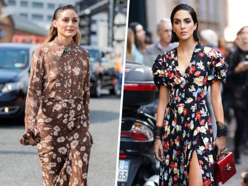 Vestiti Eleganti A Fiori.Abiti A Fiori I Vestiti Floreali Eleganti Per La Primavera 2020