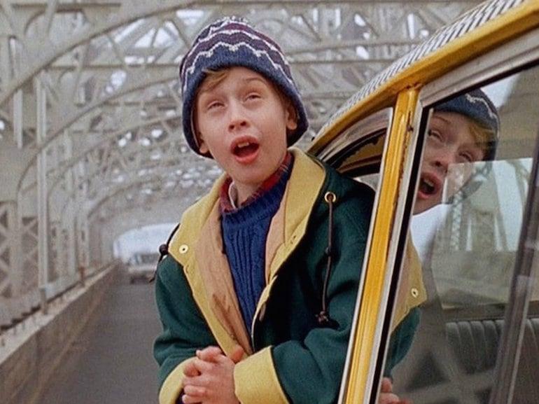 Macaulay Culkin taxi