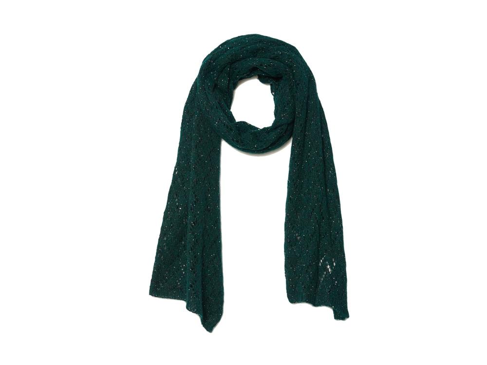 Sandro-paris-sciarpa-verde-abete-con-paillettejpg