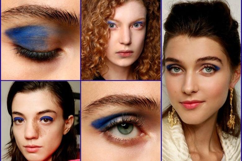 Pantone Classic Blue 2020: 10 beauty look bellissimi in blu cui ispirarsi