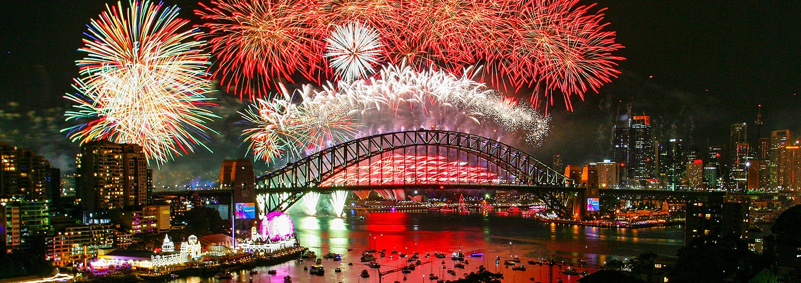 City Of Sydney Celebrates New Year's Eve 2018