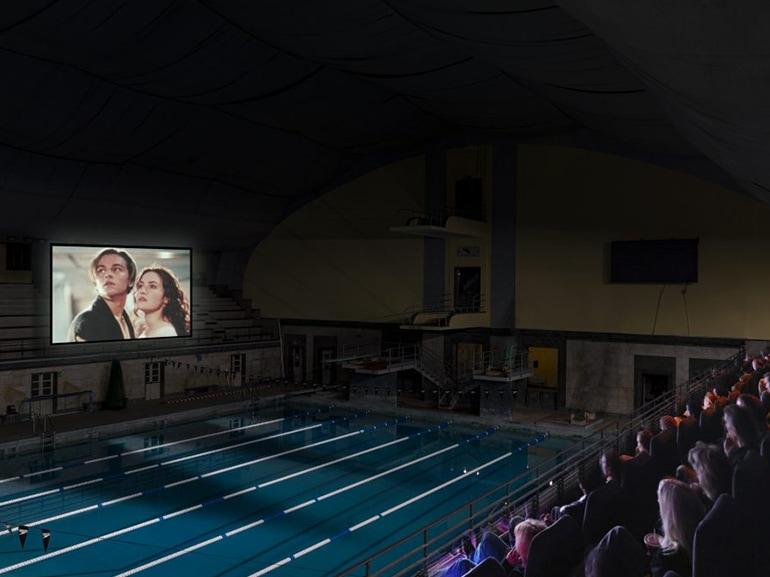cinema bianchini splendido piscina
