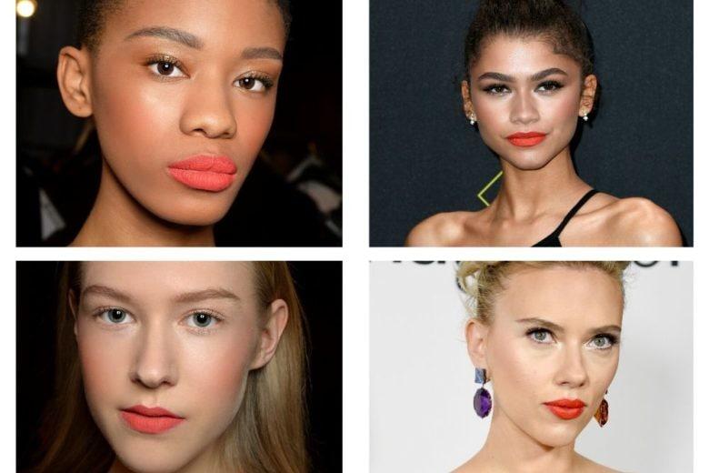 Make up: il rossetto corallo sdoganato anche per l'inverno