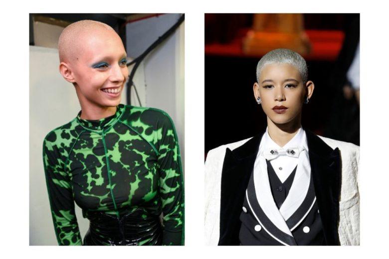 Capelli rasati: anche le donne scelgono il look estremo