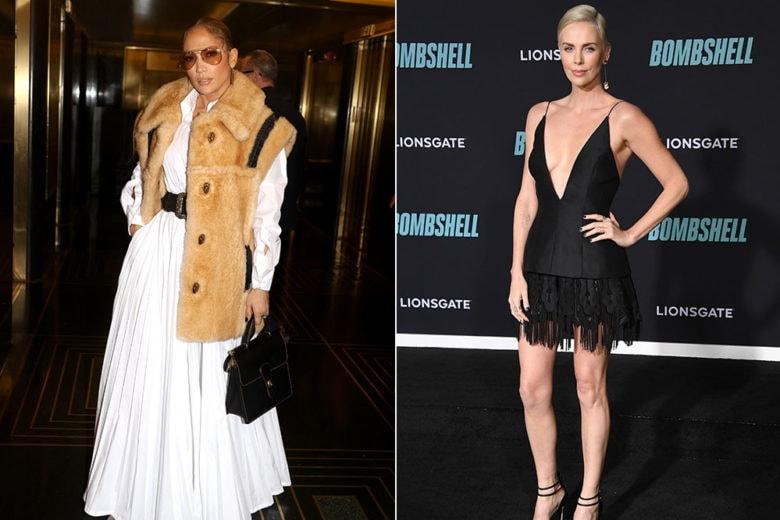 Jennifer Lopez, Charlize Theron e le altre star meglio vestite della settimana
