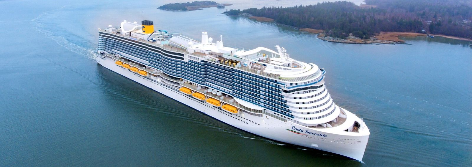 nuova nave Costa Smeralda Gruppo Costa crociere DESK