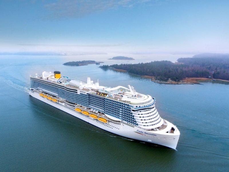 nuova nave Costa Smeralda Gruppo Costa crociere MOBILE