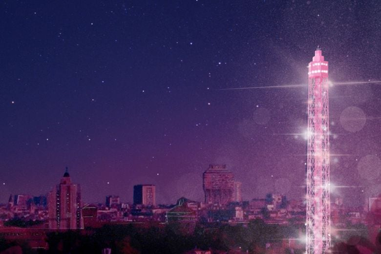 A Milano apre l'Osservatorio Pandora, mix di design, multimedia e luce rosa
