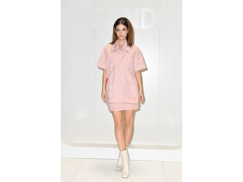 Barbara-Palvin-da-Fendi-Milan-Men's-Fashion-Week-getty