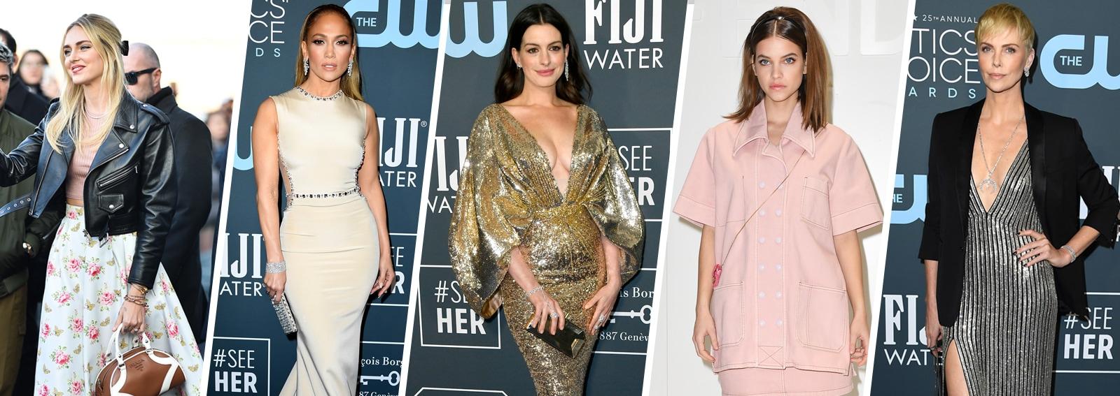 Chiara Ferragni, Jennifer Lopez e le altre star meglio vestite della settimana