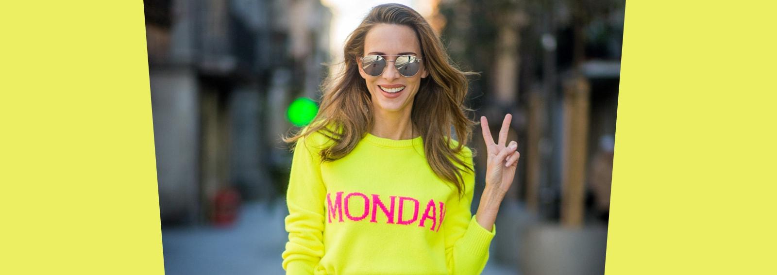 Altro che Blue Monday: con questi capi sarà un lunedì super happy!