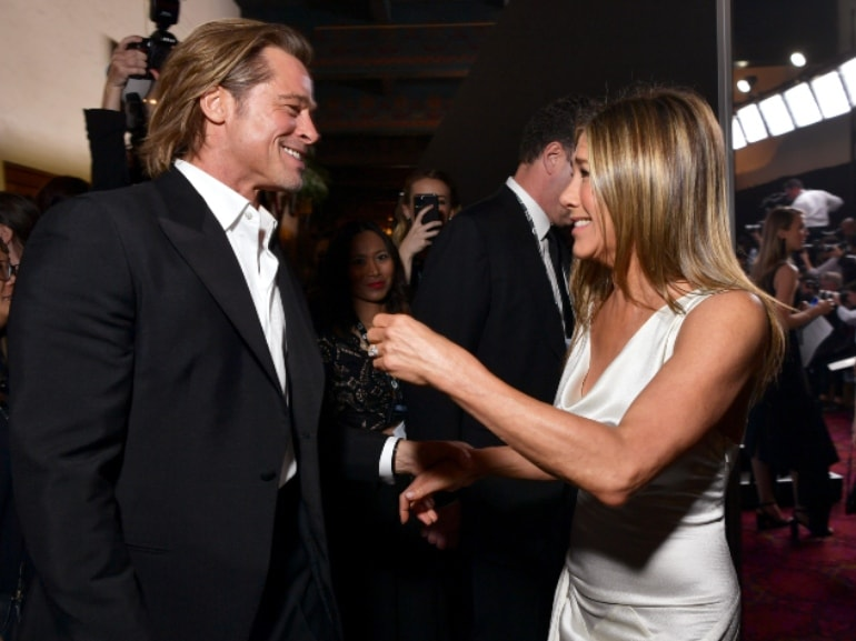 Jennifer Aniston Brad pitt 1