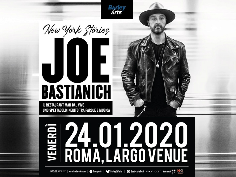 Joe Bastianich concerto largo venue