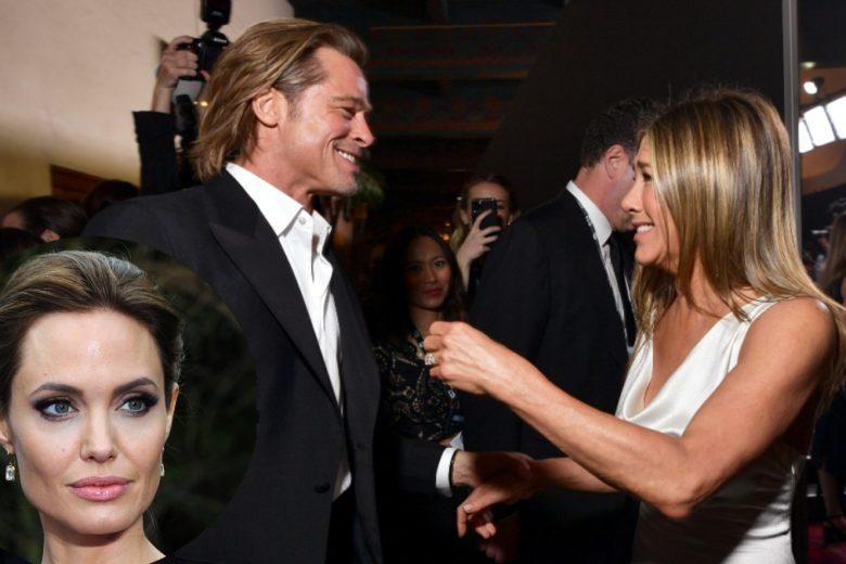 Ecco cos'ha detto Angelina Jolie dopo aver visto Brad Pitt e Jennifer Aniston insieme