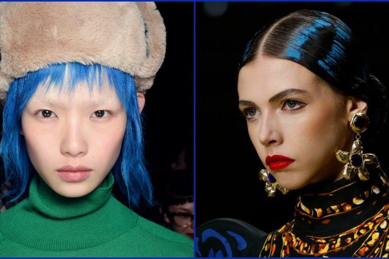 Capelli blu Pantone: Classic blue hair più belli di stagione