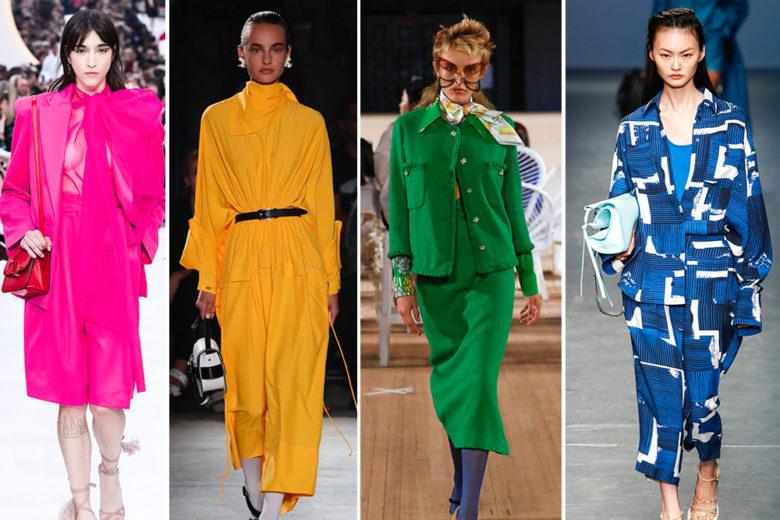 I colori must have per la Primavera Estate 2020