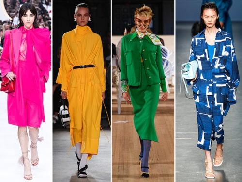 Colori moda Primavera Estate 2020: la tendenza dalle sfilate