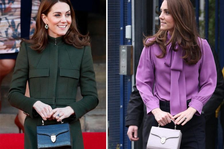 Ecco il brand di borse preferito da Kate Middleton