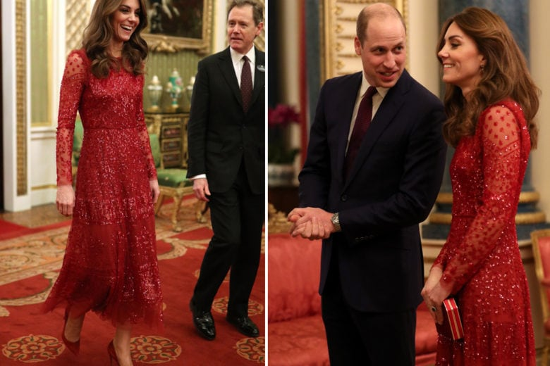 """L'abito rosso di Kate Middleton è da """"love at first sight""""!"""
