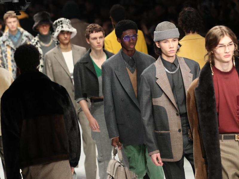 Fendi Milano Moda Uomo