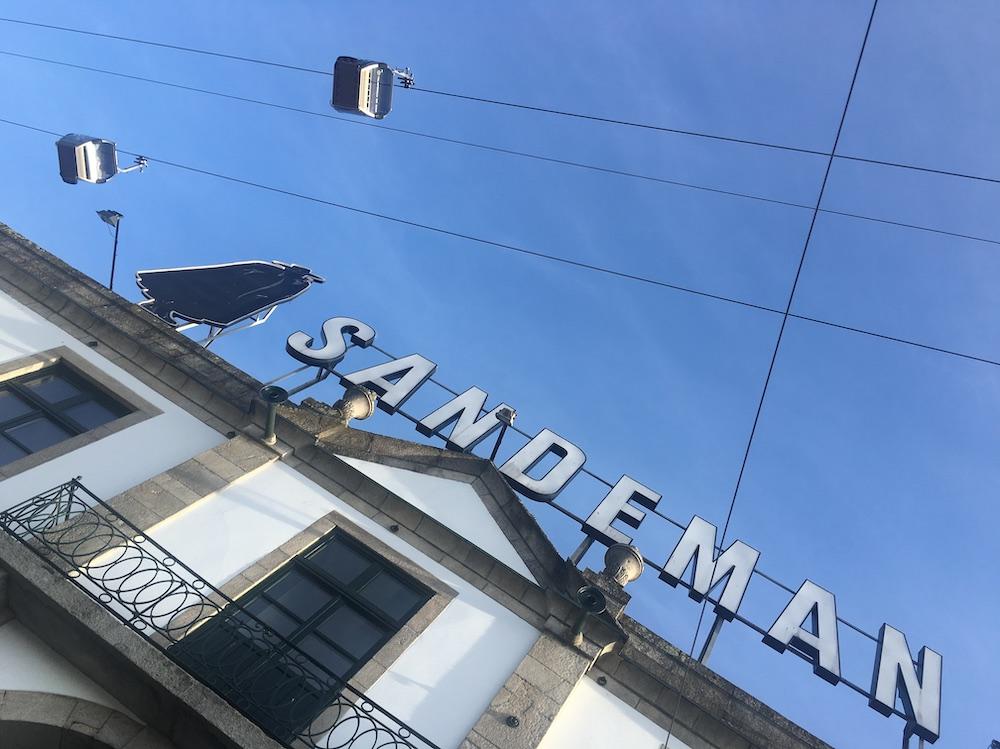sandeman porto portogallo
