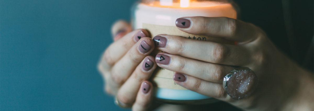 Unghie corte: nail art bellissime da copiare