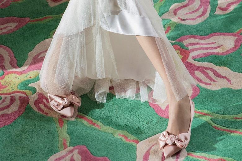 Scarpe da sposa: le novità del momento