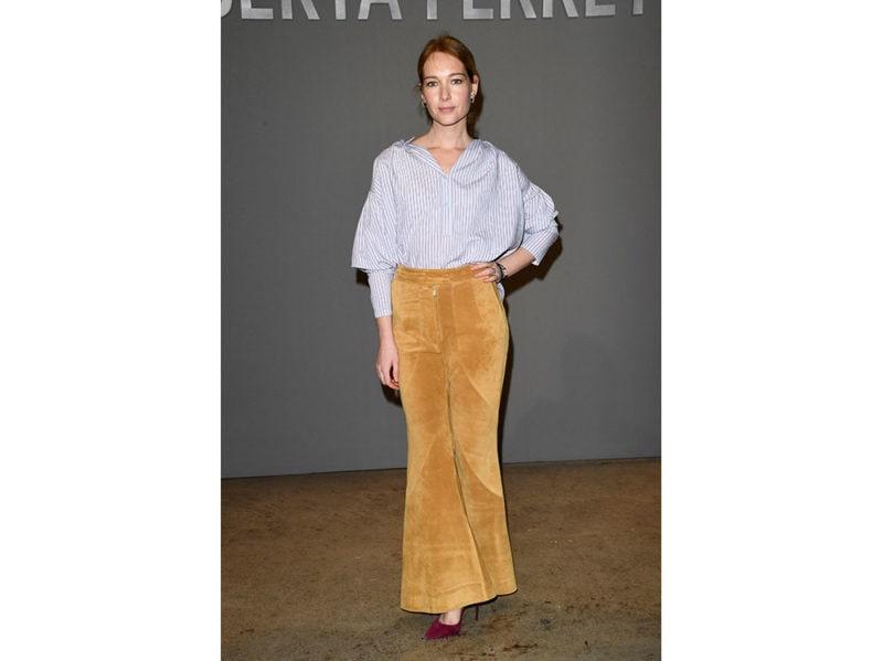 Cristiana-Capotondi-attends-the-Alberta-Ferretti-fashion-show-getty